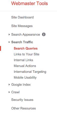 google-webmasters-tools-navigation