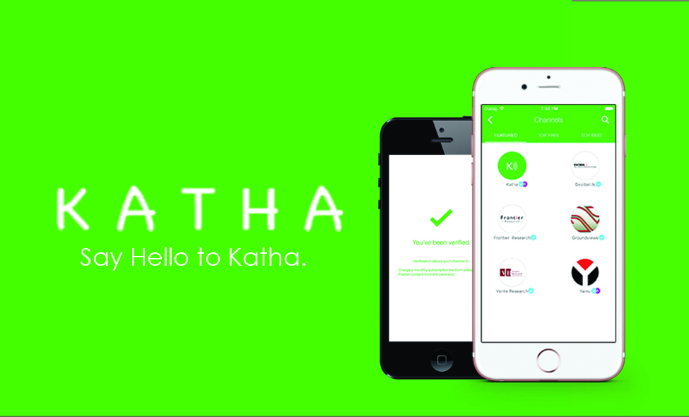 Katha: Podcasting and Audio Messaging reimagined