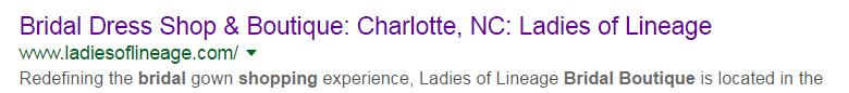bridal shop and boutique north carolina Google Search