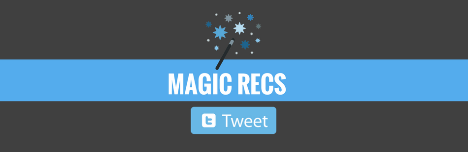 magicrecs helps you find out the tweets