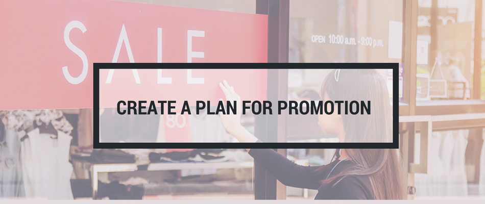 plan for promotion