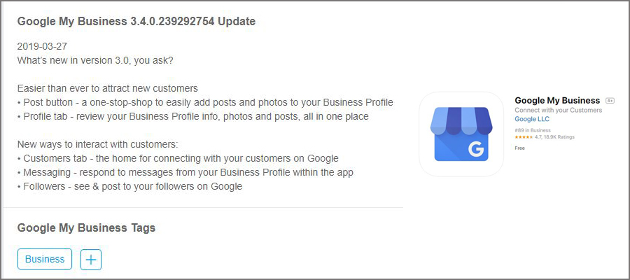 Connect with your Customers via google my business