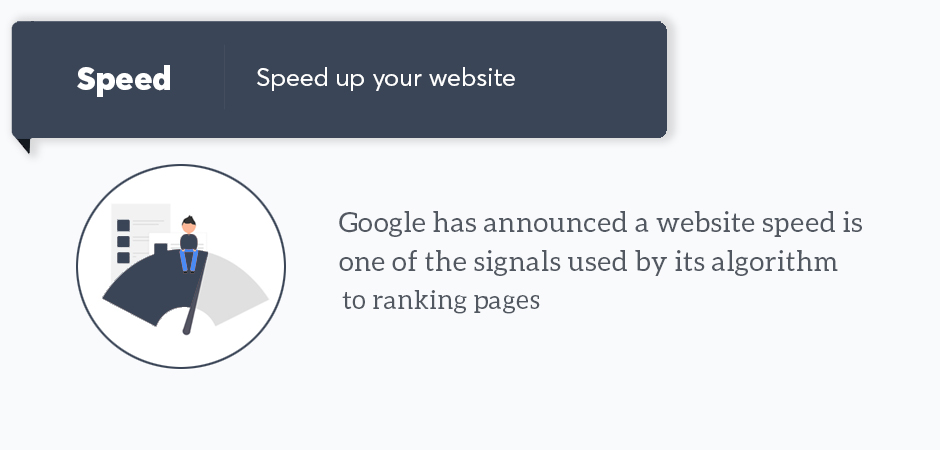 page speed - site speed